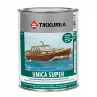 Tikkurila Unica Super / Тиккурила Уника Супер лак полуматовый